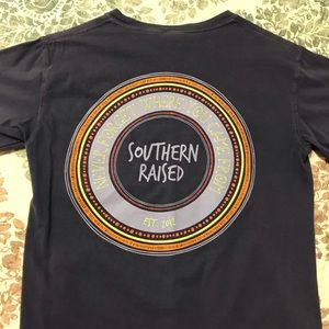 Navy Southern Raised T-Shirt